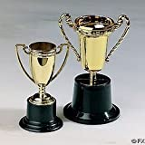 Plastic Goldtone Trophies (1 per package) by Oriental Trading Company