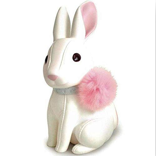 (Streamline Cute Rabbit Piggy Bank, White Rabbit Bank Toy Coin Bank Decorative Saving Bank Money Bank Adorable Rabbit)
