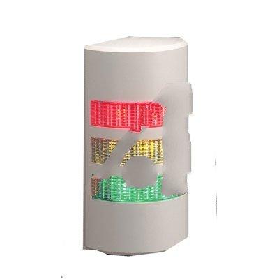 Patlite WEP-302FB-RYG , LIGHT TOWER, 3 - LIGHT, 24V AC/DC, RED, YELLOW, GREEN, WALL (Patlite Light Tower)