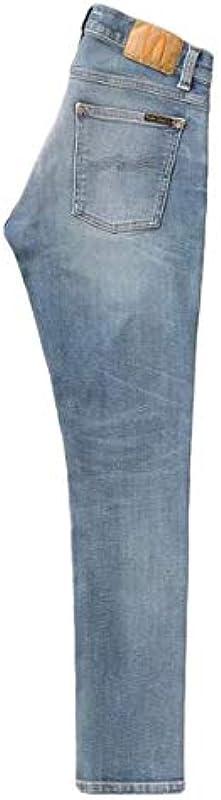 Nudie Jeans Męskie Tight Terry Summer Dust Jeans: Odzież