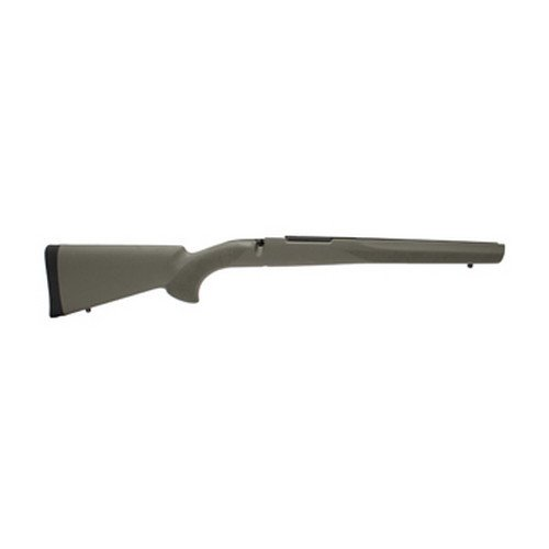 Hogue Rubber Over Molded Stock, Mauser 98, Olive Drab, Pillar Bedding