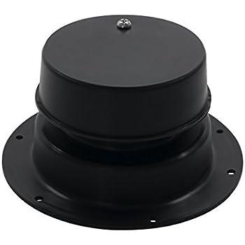 Rv Trailer Plumbing Sewer Vent Cap With Screw Black