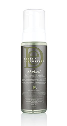 Amazoncom Design Essentials Natural Curl Enhancing Mousse By