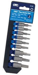 OTC (6180) TORX PLUS Socket Set - 9 Piece