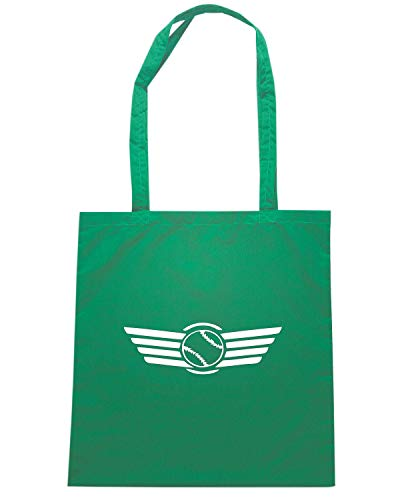 SP0066 Speed Borsa BASEBALL FLYING Shopper Shirt Verde wpFqp6I