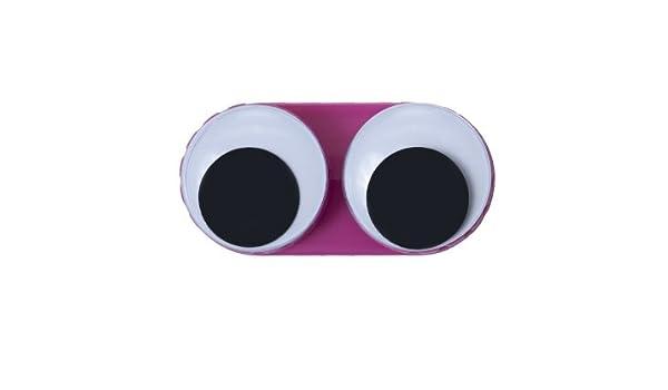Estuche para lentillas GOOGLE ojos - Colour rosa: Amazon.es ...