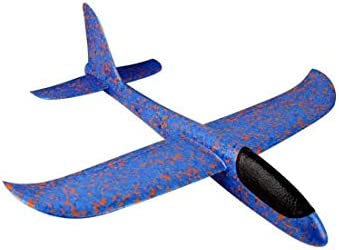 Hand Throw Glider Aircraft Launch Child Outdoor Beach Game Toys DIY EPP Airplane