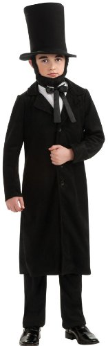 Rubie's Child's Deluxe Abraham Lincoln Costume, (Adult Abe Lincoln Costumes)