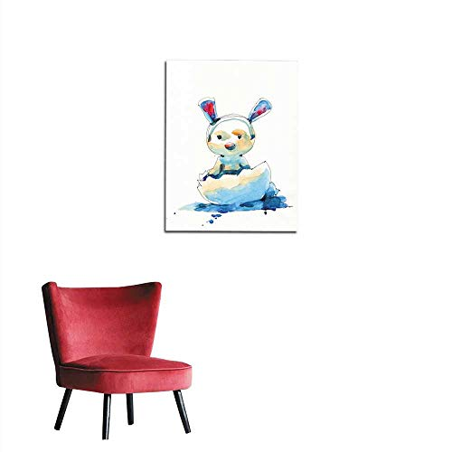 Wall Sticker Decals Watercolor Painting Illustration Set of