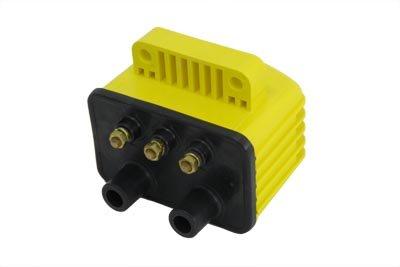 V-Twin 32-0090 Accel Yellow Single Fire Super Coil
