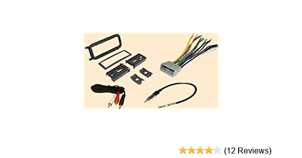 Radio Stereo Install Dash Kit + wire harness + antenna adapter for on jeep wiring harness kit, jeep cherokee wiring harness, jeep xj wiring harness, vintage vw wiring harness, jeep grand cherokee wiring diagram, jeep 42re transmission, 97 jeep wiring harness, jeep wrangler wiring harness, jeep 4.2 engine diagram, jeep cherokee alternator wiring diagram, jeep cj5 wiring harness, jeep tow bar wiring harness, jeep cj5 ignition wiring, ford 4.0 wiring harness, jeep cherokee fuel pressure regulator, jeep cj7 wiring harness, jeep cj7 wiring-diagram, jeep cj5 wiring-diagram, jeep cherokee engine diagram, jeep yj wiring harness,