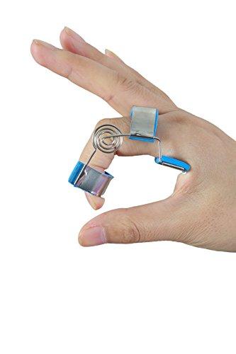 Spring-coil Finger Extension Splint Ideal use for Finger Joint Stretch Problem Finger Support Brace Guard Protector Rehabilitation Training (Sport Coil Spring)