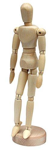 Nice Days(ナイス ディズ) デッサン人形 ジョイント人形 【木製】ホーム飾り 8寸の商品画像