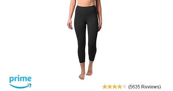 fc6dc1321d6 Amazon.com  90 Degree By Reflex – High Waist Tummy Control Shapewear –  Power Flex Capri  Clothing
