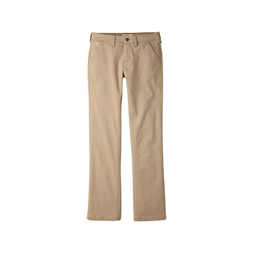 (Mountain Khakis Women's Camber 105 Pant Classic Fit, Retro Khaki, 2 Regular )