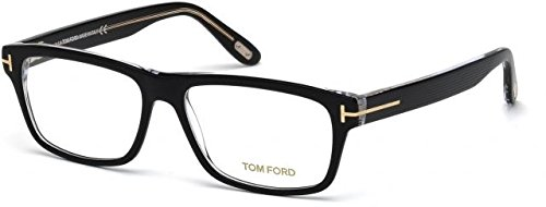 New Tom Ford Eyeglasses Men TF 5320 Black 005 TF5320 56mm by Tom Ford