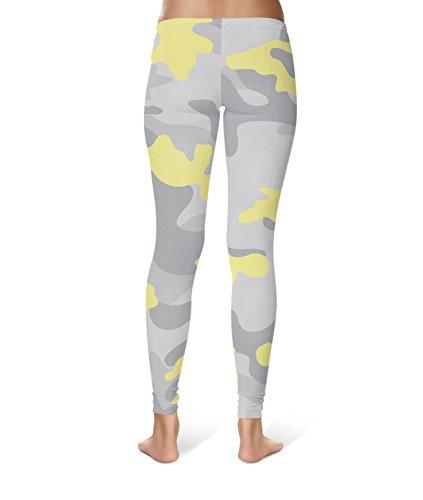 Queen of Cases - Legging de sport - Femme jaune jaune taille unique