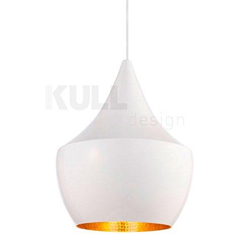 Lámpara Beat Fat Blanca. Lámpara de techo inspirada en el ...