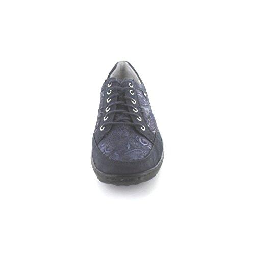 Para Cordones de 327 Mujer Zapatos Azul 217 Waldläufer 496023 YSqpwz