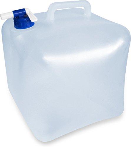 Faltbarer Falteimer Wasserkanister mit Hahn in verschiedenen Größen Farbe 10 Liter