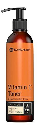 Natural Vitamin C Face Toner - Hydrating, Firming, pH