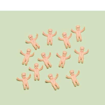 Amscan Tiny Baby Shower Favor Charms 12ct