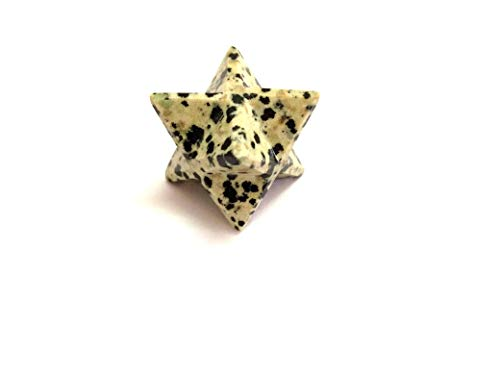 Jet Dalmation Jasper Merkaba 1 inch Star Free Booklet Jet International Crystal Therapy. Jet International Healing Spiritual Divine India A++ Crystal Therapy Geometry Image is JUST A -