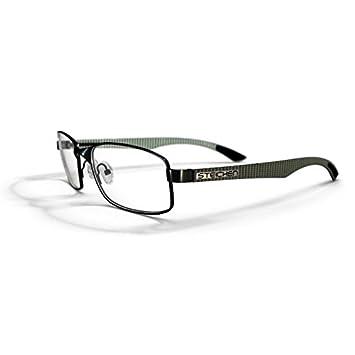 Steichen Optics White Carbon Grey Lunettes de Jeux pour Ordinateur Portable b72bbb923b80