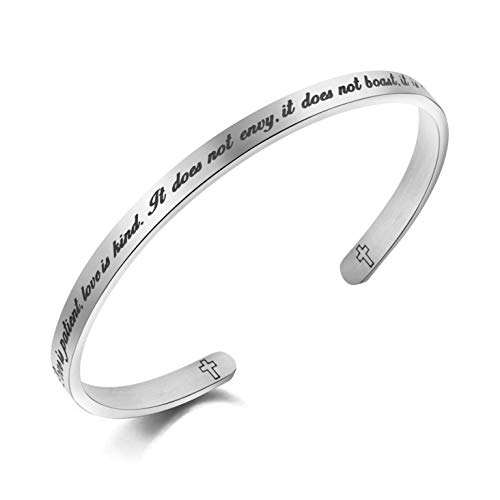 MEMGIFT Christian Bracelets...
