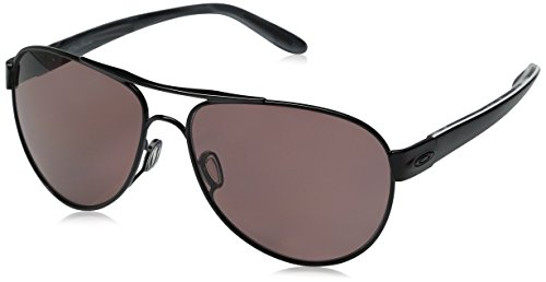 Oakley Women's Disclosure OO4110-04 Polarized Aviator Sun...
