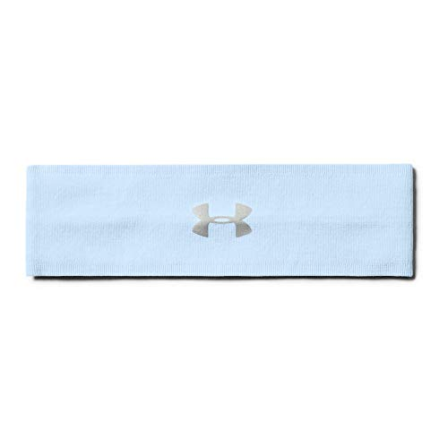 (Under Armour Women's Perfect Head Band 2.0, Halogen Blue (441)/Metallic Silver, One Size Fits All)
