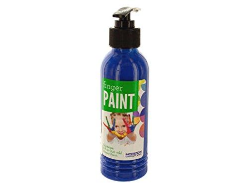 8 oz. Blue Finger Paint in Pump Bottle - Pack of 20 -