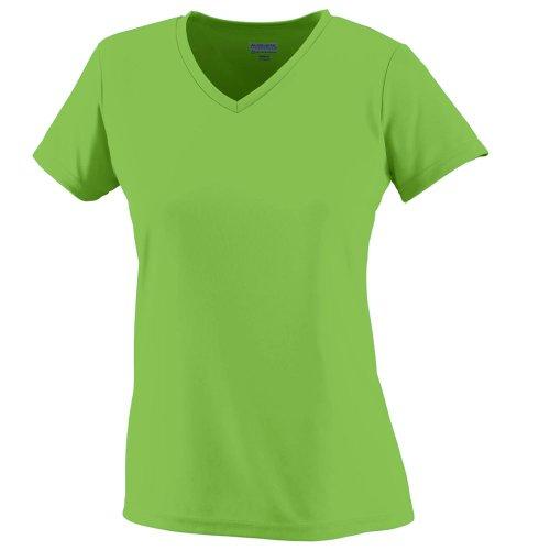 Augusta Sportswear Women's Wicking t-Shirt, Lime, XX-Large