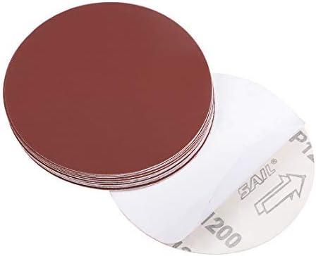 - 5 inch PSA sanding disc, aluminum oxide adhesive, back sandpaper, 1200 grit, 20 pieces