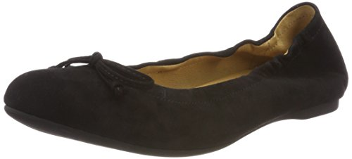 Gabor Women Casual Ballet Flats, Black (Black), 4.5 UK (37.5 EU)
