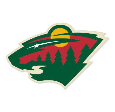 "UPC 616806400717, Minnesota Wild NHL Extra Large Sticker (16"" x 13"") Cornhole Wall Car"