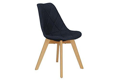 Novogratz Brisbane Dining Chair, Navy Linen (Furnitures Outdoor Brisbane)