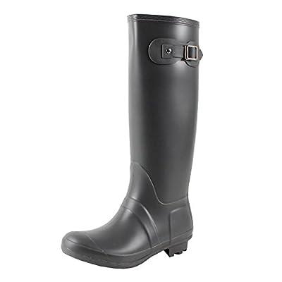 Guilty Heart West Blvd Seattlev2.0 Waterproof Boots, Grey Rubber, 11