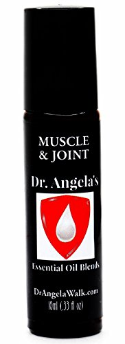 Muscle Inflammation Pain (Dr. Angela's Muscle & Joint Essential Oil Blend | Therapeutic Grade | Inflammation and Pain Relief | Headache and Migraine Relief Roll On Bottle 10 ml (.33 fl oz))