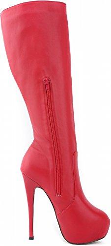 Salabobo - Botas Chukka mujer Red