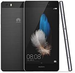 Huawei P8 Lite ALE-L21 16GB Black, Dual Sim, 5-Inch, Unlocked Smartphone - International Stock, No Warranty