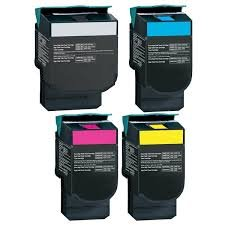 Ink Now Compatible Combo (All Colors) Lexmark Toners C540H1CG,C540H1KG,C540H1MG,C540H1YG C540 C540N C543 C543DN C544 C544DN C544DTN C544DW C544N C546 C546DTN X543 X543DN ()