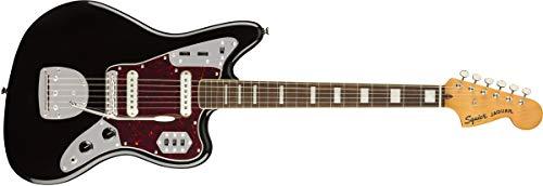 - Squier by Fender Classic Vibe 70's Jaguar Electric Guitar - Laurel - Black