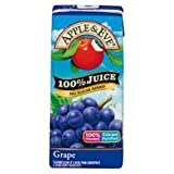 Apple and Eve Organic Grape Juice, 200 Milliliter -- 27 per case.