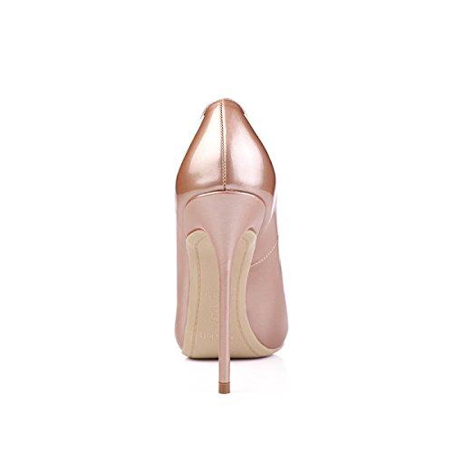 8 PU Pompes Hauts De Beaux Talons Mariée 5cm Printemps Sexy Stiletto Cuir Été Bout Lady Parti Femmes Chaussures Pointu qw0TFCR