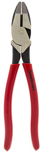Southwire Tools & Equipment SCP9D 9-Inch High-Leverage Side Cutting Pliers with Dipped Handles ()