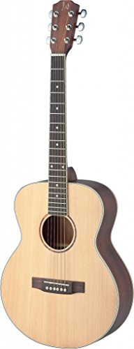 James Neligan ASY-A MINI LH ASYLA Series Left Handed Auditorium Acoustic Travel Guitar