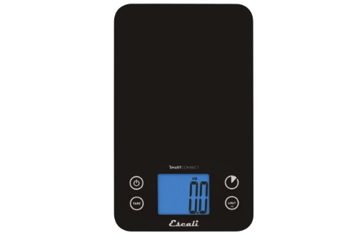 Escali Smart Connect Bluetooth Kitchen Scale, 11-Pound