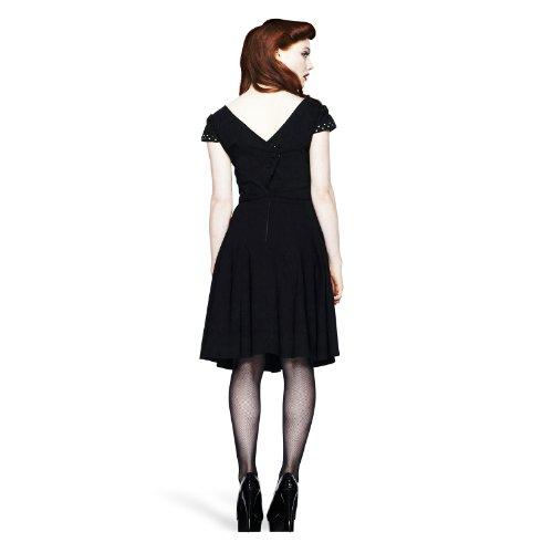 Hell Bunny - vestido rockabilly Evie - espalda descubierta