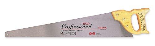 """Nicholson Saw Handsaw,150 Professional,15"""",8Pt Std (1 Each) Ns1504"""
